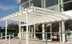 Commercial Canopies  Installed Bradford