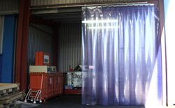 Pvc Strip Curtain Repairs Bradford