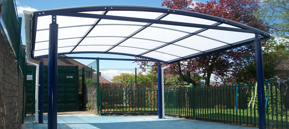 Canopies & Shelters Installed  Bradford