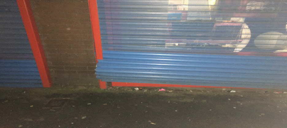 Emergency Commercial Roller Shutter Repairs Bradford
