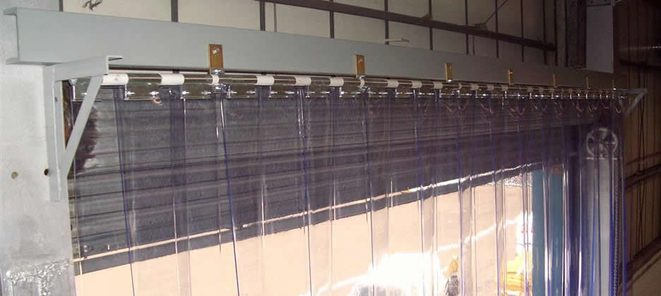Pvc Strip Curtains Installed  Bradford